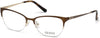 Guess GU2584 Cat Eyeglasses 049-049 - Matte Dark Brown