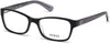 Guess GU2591 Geometric Eyeglasses 001-001 - Shiny Black