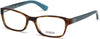Guess GU2591 Geometric Eyeglasses 052-052 - Dark Havana