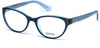 Guess GU2592 Round Eyeglasses 090-090 - Shiny Blue