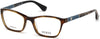 Guess GU2594 Geometric Eyeglasses 056-056 - Havana/other