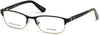 Guess GU2614 Geometric Eyeglasses 002-002 - Matte Black