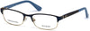 Guess GU2614 Geometric Eyeglasses 091-091 - Matte Blue