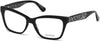 Guess GU2622 Geometric Eyeglasses 001-001 - Shiny Black