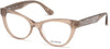 Guess GU2623 Cat Eyeglasses 057-057 - Shiny Beige