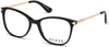 Guess GU2632-S Geometric Eyeglasses 005-005 - Black