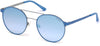 Guess GU3023 Round Sunglasses 86X-86X - Light Blue/other / Blu Mirror