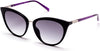 Guess GU3035 Cat Sunglasses 01X-01X - Shiny Black  / Blu Mirror