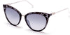 Guess GU3035 Cat Sunglasses 05B-05B - Black/other / Gradient Smoke