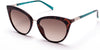 Guess GU3035 Cat Sunglasses 56F-56F - Havana/other / Gradient Brown