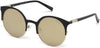 Guess GU3036 Cat Sunglasses 02G-02G - Matte Black / Brown Mirror