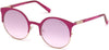Guess GU3036 Cat Sunglasses 74U-74U - Pink /other / Bordeaux Mirror