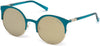 Guess GU3036 Cat Sunglasses 89G-89G - Turquoise/other / Brown Mirror