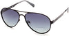 Guess GU6897 Aviator Sunglasses 02D-02D - Matte Black / Smoke Polarized
