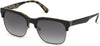 Guess GU6912 Browline Sunglasses 05B-05B - Black/other / Gradient Smoke