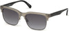 Guess GU6912 Browline Sunglasses 20B-20B - Grey/other / Gradient Smoke