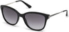 Guess GU7469 Geometric Sunglasses 01B-01B - Shiny Black  / Gradient Smoke
