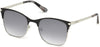 Guess GU7517 Square Sunglasses 02C-02C - Matte Black / Smoke Mirror