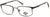 Harley-Davidson HD0142T Rectangular Eyeglasses 002-002 - Matte Black
