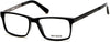 Harley-Davidson HD0752 Geometric Eyeglasses 001-001 - Shiny Black