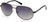 Harley-Davidson HD0954X Pilot Sunglasses 02D-02D - Matte Black / Smoke Polarized