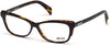 Just Cavalli JC0771 Oval Eyeglasses 005-005 - Black