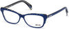 Just Cavalli JC0771 Oval Eyeglasses 092-092 - Blue