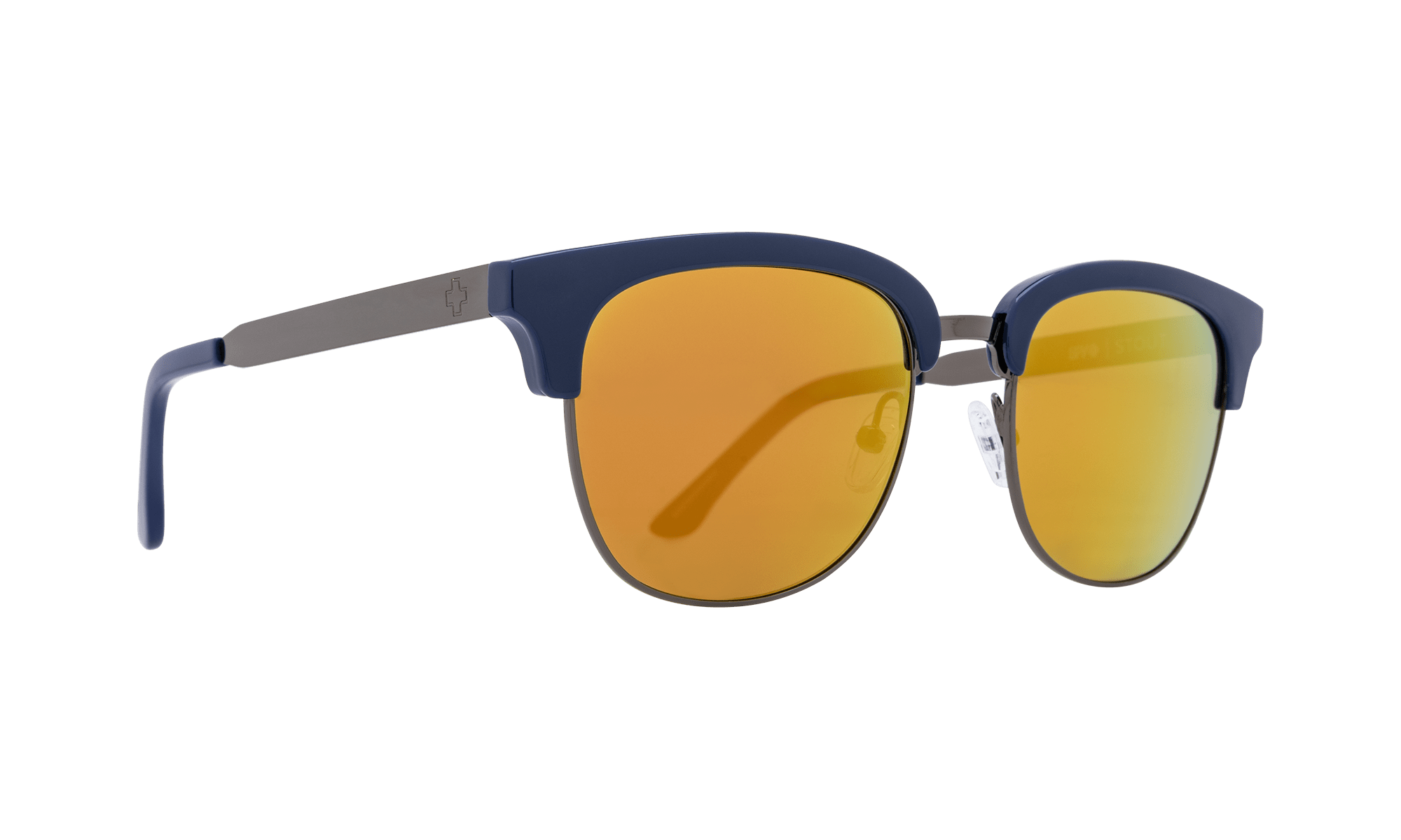 SPY stout  Sunglasses  Gray with Gold Mirror  51-21-147