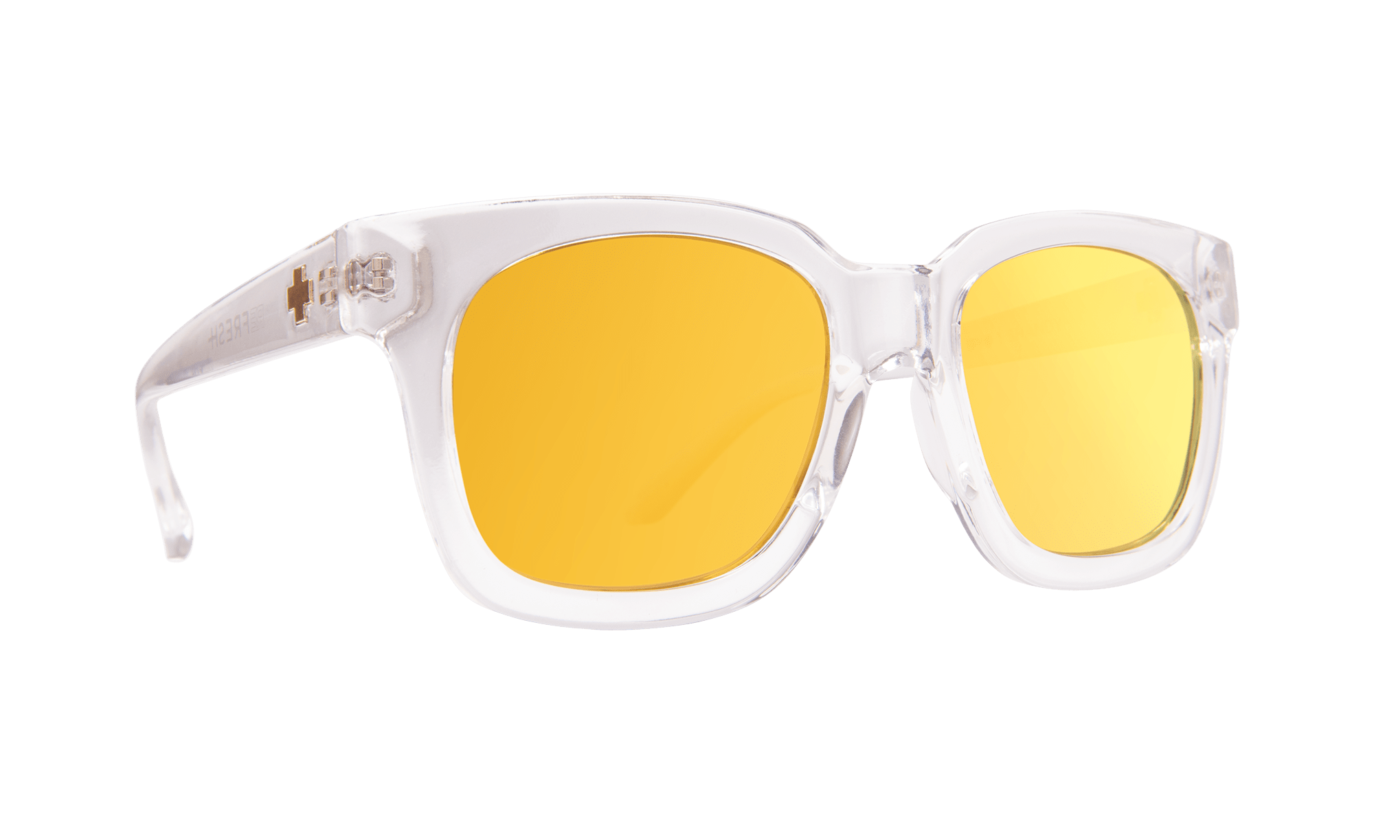 SPY Shandy  Sunglasses  Gray with Gold Mirror  52-20-147