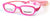 Skechers SE1170 Rectangular Eyeglasses 074-074 - Pink