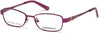 Skechers SE1625 Geometric Eyeglasses 070-070 - Matte Bordeaux