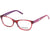 Skechers SE1645 Rectangular Eyeglasses 068-068 - Red