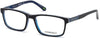 Skechers SE3201 Geometric Eyeglasses 090-090 - Shiny Blue