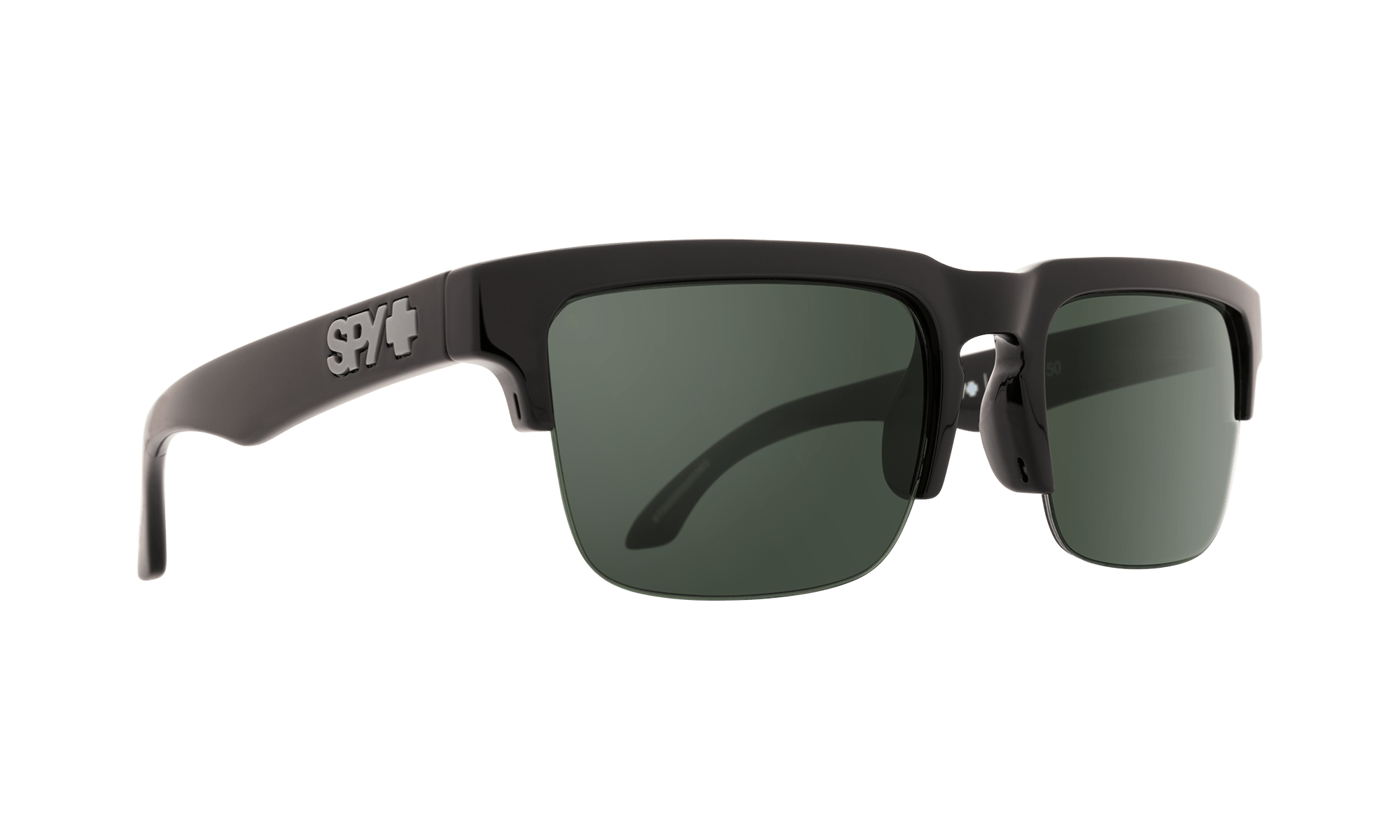 SPY Helm 5050  Sunglasses  HD Plus Gray Green  56-20-140