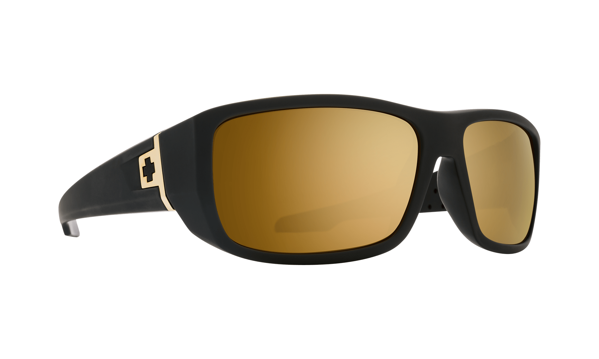 SPY MC3  Sunglasses  HD Plus Bronze with Gold Spectra Mirror  63-15-122