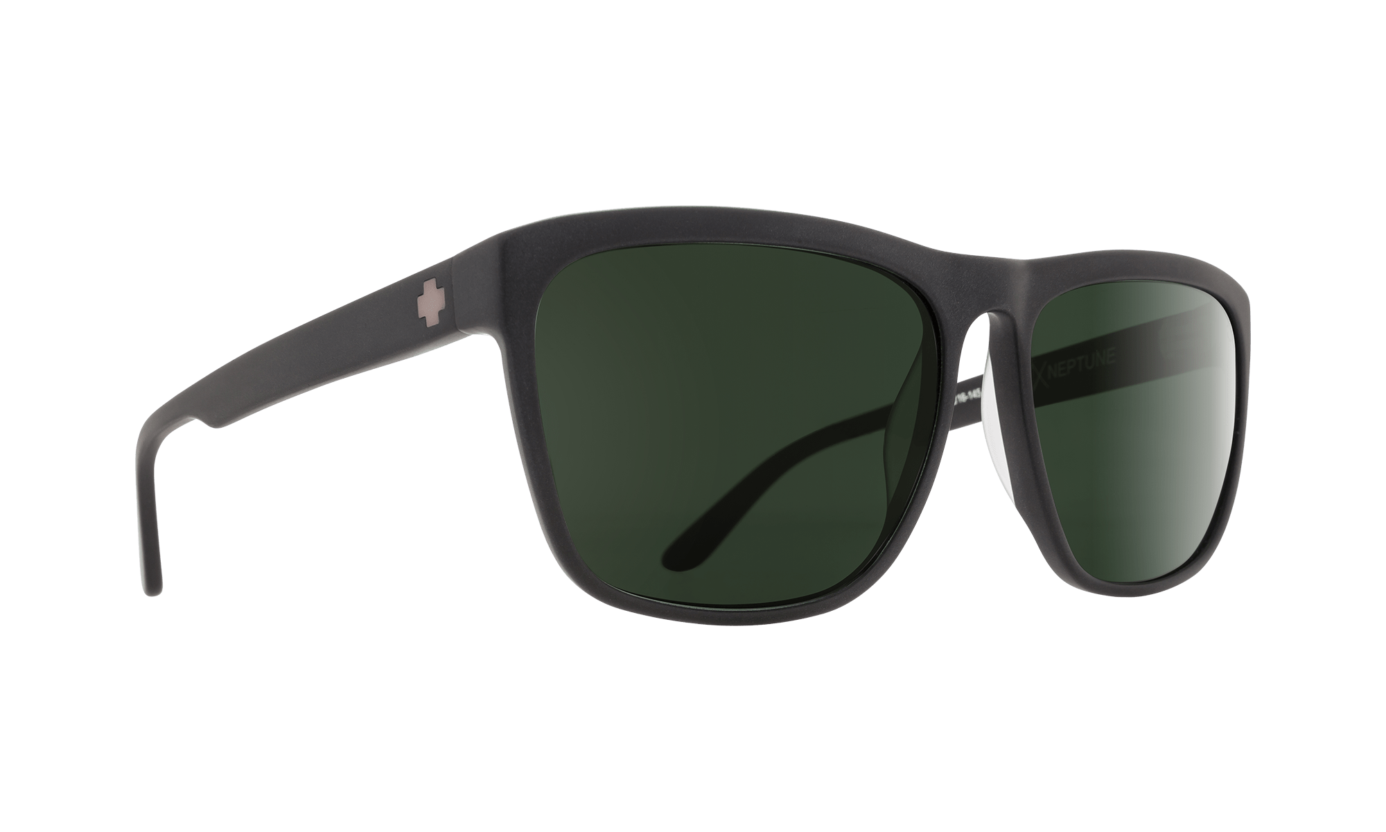 SPY Neptune  Sunglasses  Happy Gray Green Polar  a balanced 60-16-145