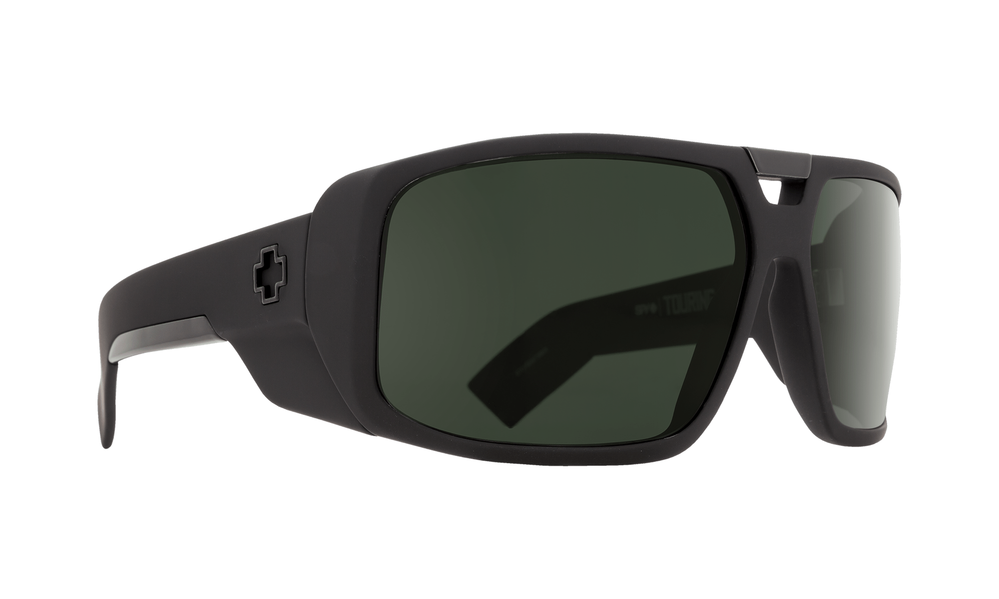 SPY Touring  Sunglasses  Happy Gray Green  64-14-122