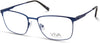 Viva VV4043 Rectangular Eyeglasses 091-091 - Matte Blue