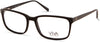 Viva VV4044 Rectangular Eyeglasses 001-001 - Shiny Black