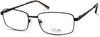 Viva VV4045 Rectangular Eyeglasses 005-005 - Black