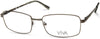 Viva VV4045 Rectangular Eyeglasses 020-020 - Grey