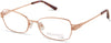 Viva VV8013 Rectangular Eyeglasses 028-028 - Shiny Rose Gold
