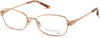 Viva VV8013 Rectangular Eyeglasses 032-032 - Pale Gold