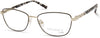 Viva VV8014 Rectangular Eyeglasses 001-001 - Shiny Black