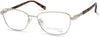 Viva VV8014 Rectangular Eyeglasses 032-032 - Pale Gold