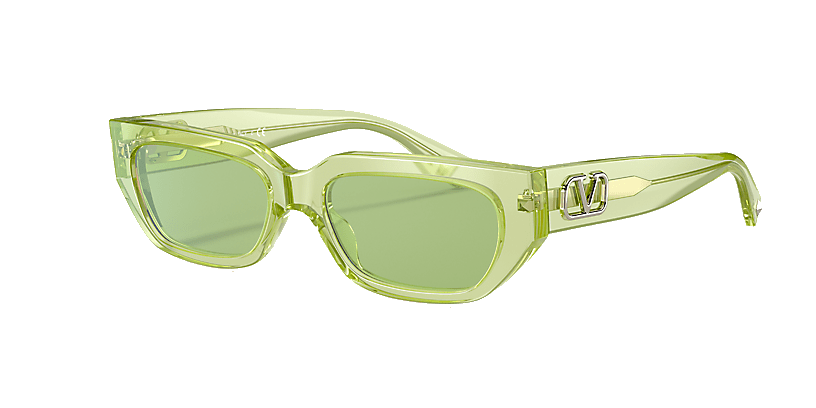 Valentino VA4080 Rectangle Sunglasses for Women