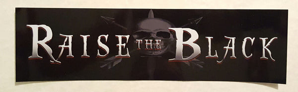OG - Raise the Black Bumper Sticker Pack (5) - Raise the Black