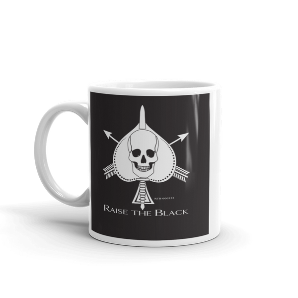 Death Card Mug - Raise The Black - Raise the Black