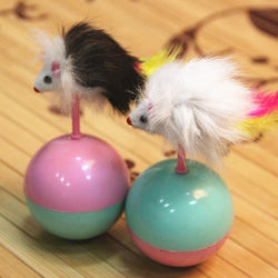 Mimi Fur Ball Mouse Cat Toy