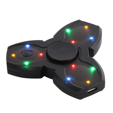 Rechargeable Wraith LED Spinner with Bluetooth Speakers
